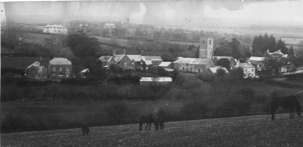 Postcard of Meavy, c1900
